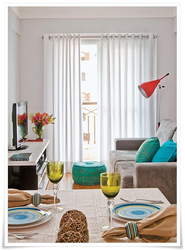 5 dicas para decorar sala pequena -> Decorar Sala Simples E Pequena