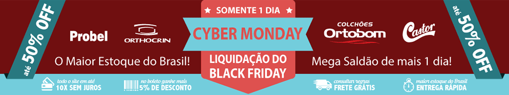Black Friday de colchões