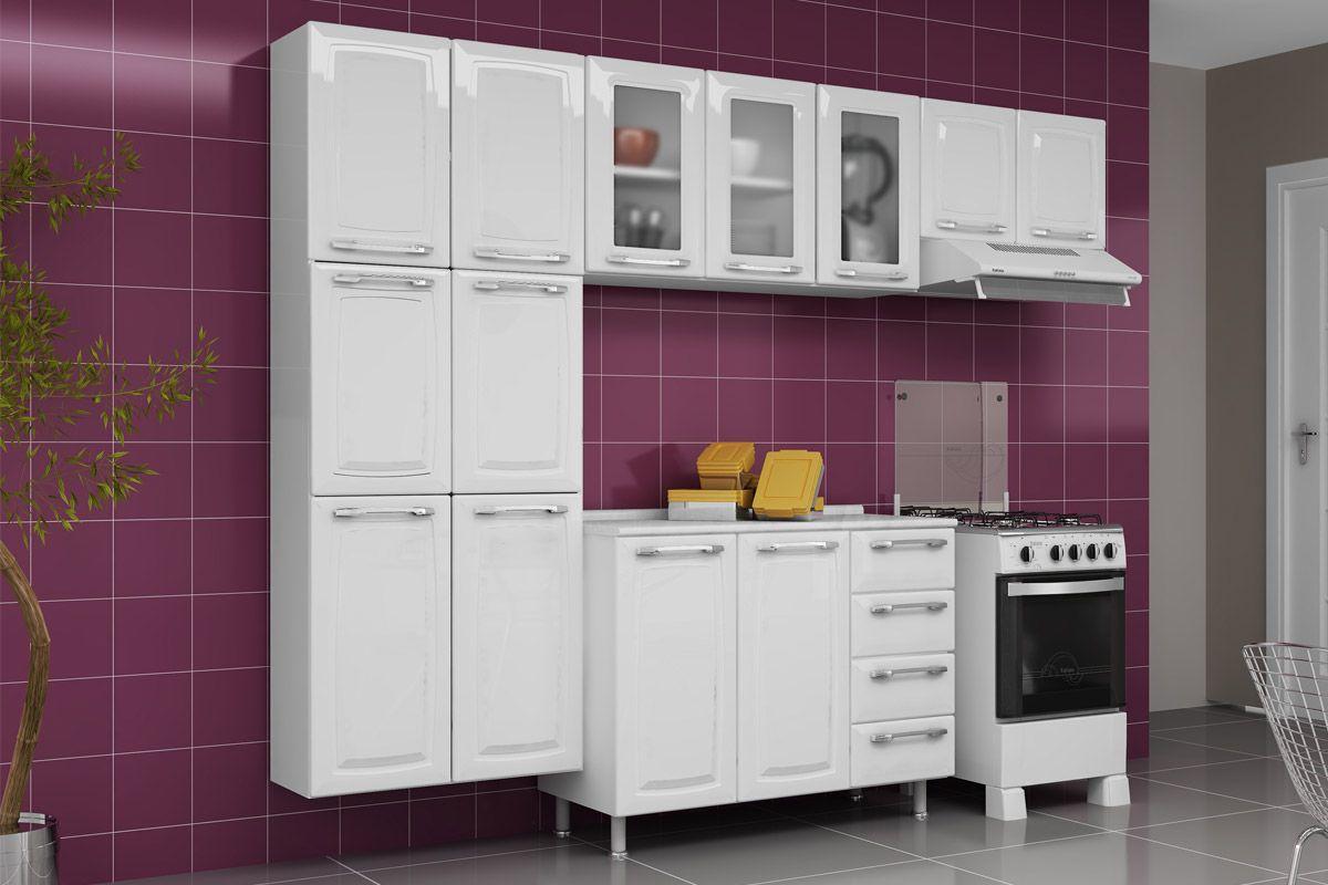 Armário de Cozinha Itatiaia Aéreo de Geladeira Criativa IPG2 70 Aço  #9A7831 1200x800