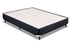 Cama Box Casal - 1,28x1,88x0,24 - Sem Colchão