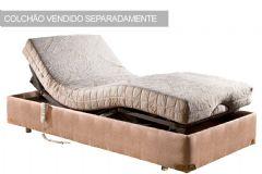 Cama Box Solteiro - 0,95x2,03x0,33 - Sem Colchão