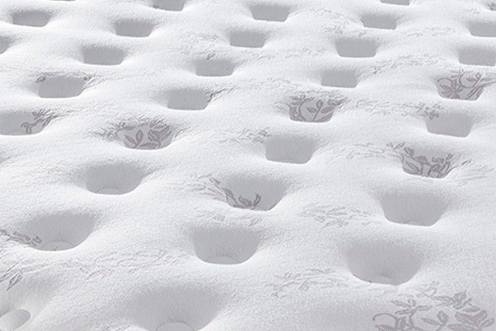 Conjunto Box - Colchão Sealy Pocket Miami + Cama Box Universal CRC Courino White