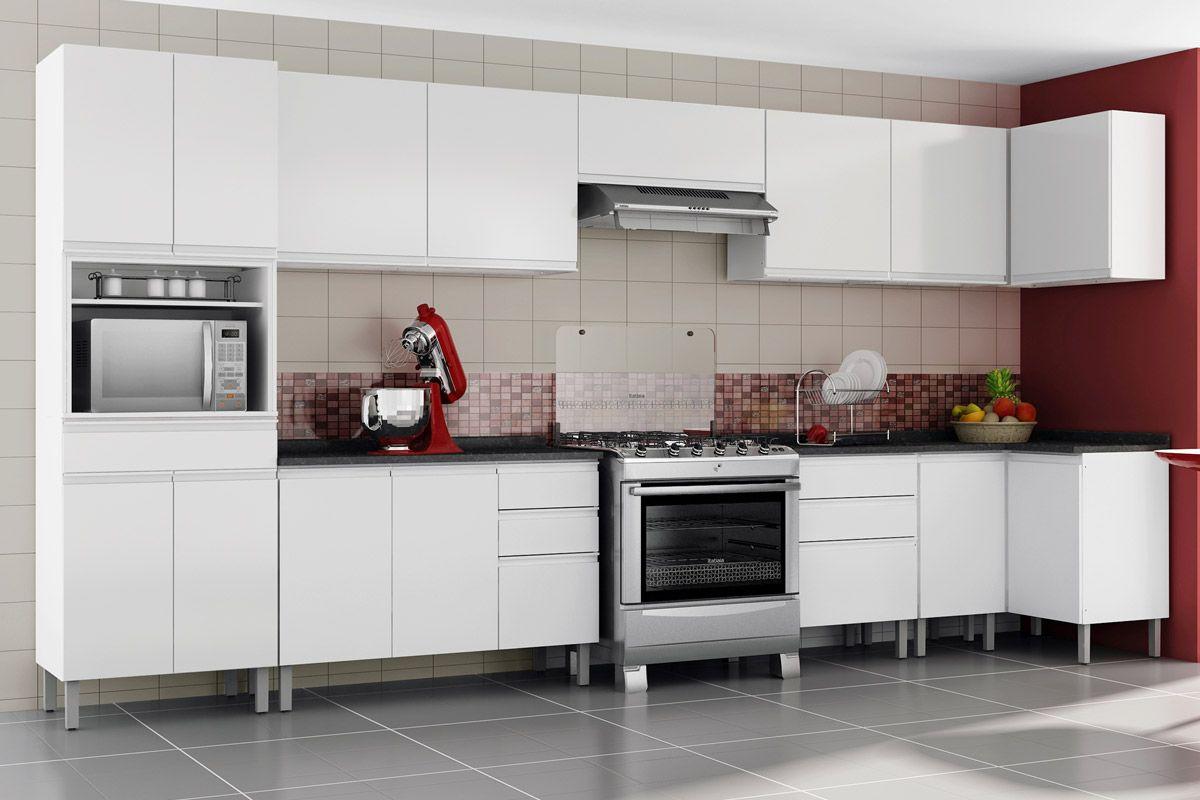 Gabinete de Cozinha Itatiaia Stilo Plus Aço Gaveteiro 120 cm  Costa Rica # Armario De Cozinha Irmol Orquidea