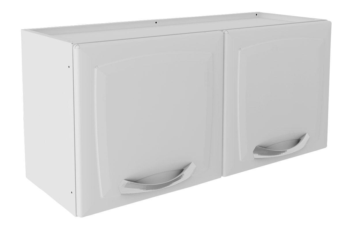 Armário de Cozinha Itatiaia Aéreo de Geladeira Premium IPG2-80 Aço c/ 2 Portas 80cm