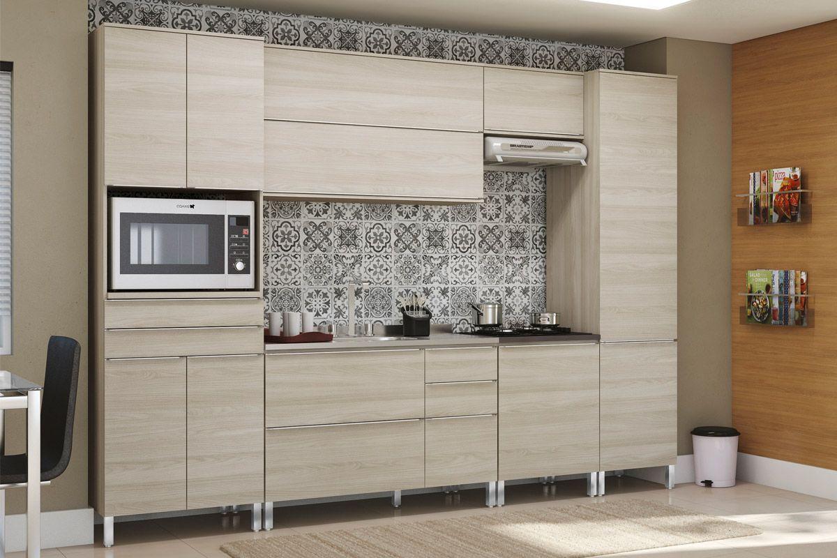 Paneleiro de Cozinha Kappesberg Versatti C657 Madeira c/ 2 Portas #826340 1200 800