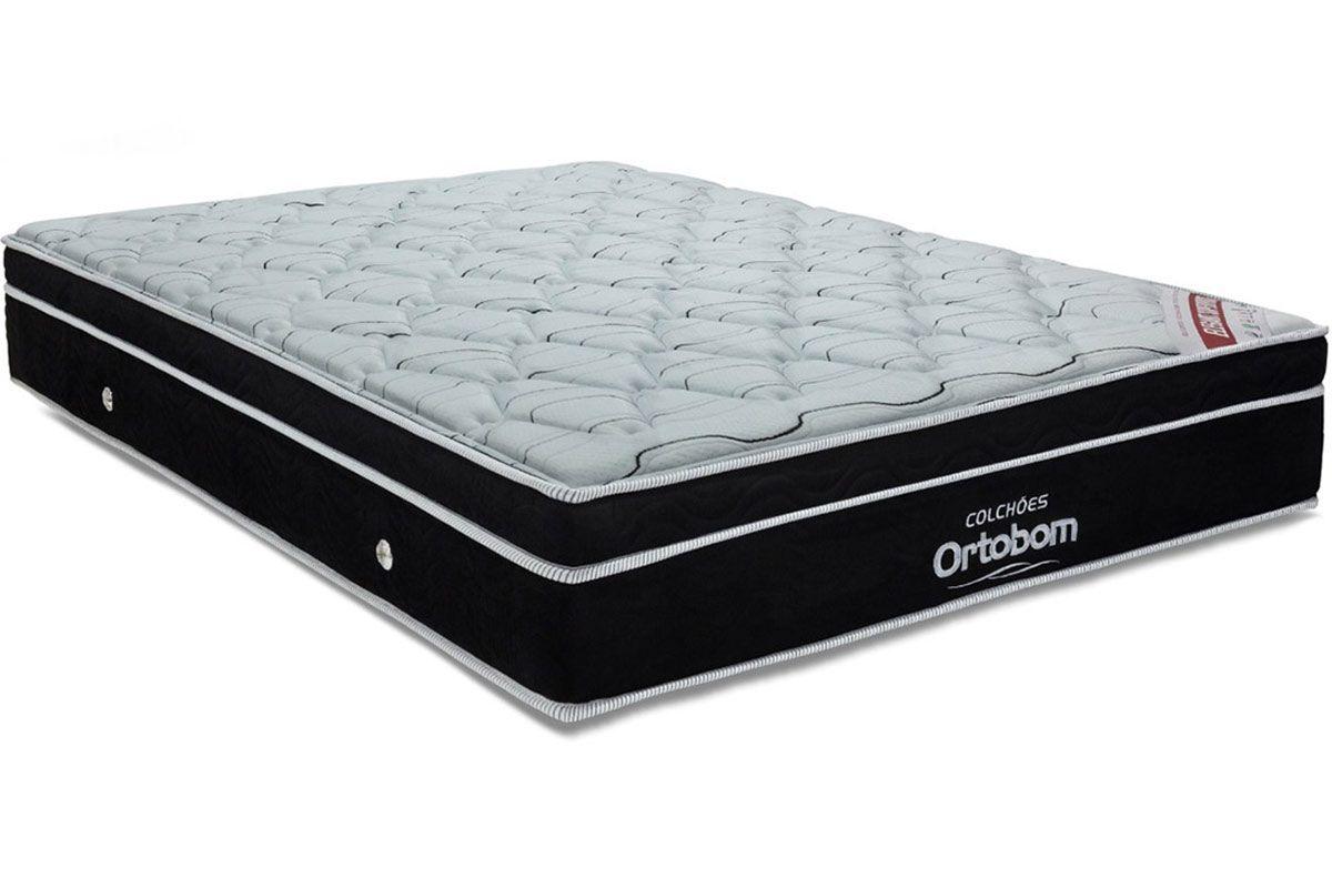 Colchão Ortobom de Molas Pocket Elegant Euro Pillow