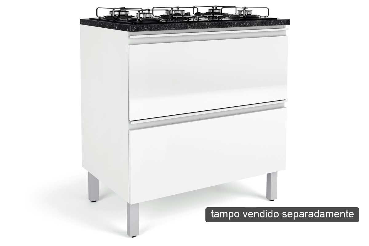 Gabinete Cooktop De Cozinha Itatiaia Bel Ssima Plus Igh2 80 Cook