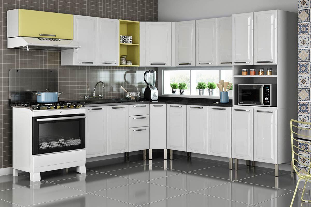 Cozinha Com Torre De Fornos Decorao Cozinha Planejada Torre Para