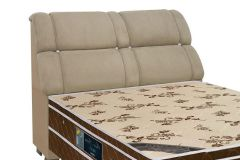Queen Size  -   Cor Nobuck Marrom Taupe