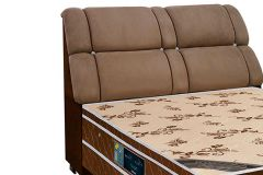 Queen Size - Cor Nobuck Marrom Taupe/Marrom Chocolate