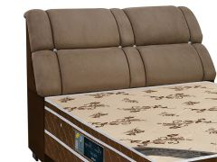 King Size - Cor Nobuck Marrom Taupe/Marrom Chocolate