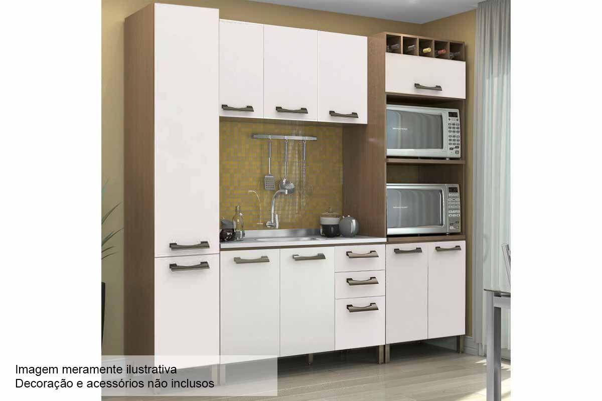 Cozinha Completa Kappesberg Sense C 4 Pe As Cz48 S Pia Na Costa