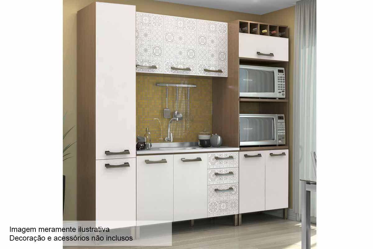 Cozinha Unique Kappesberg Cozinha Modulada Completa Unique Com