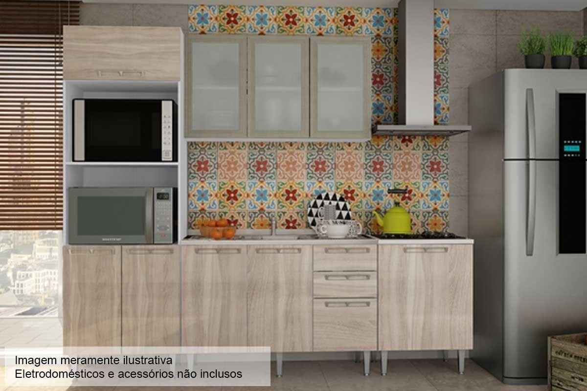 Cozinha Completa Art In M Veis Mia Coccina C 5 Pe As Cz54 S Pia Na