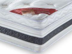Colchão Orthocrin de Molas Pocket Supreme Plus Visco Pillow Top Pró Saúde Selado INER