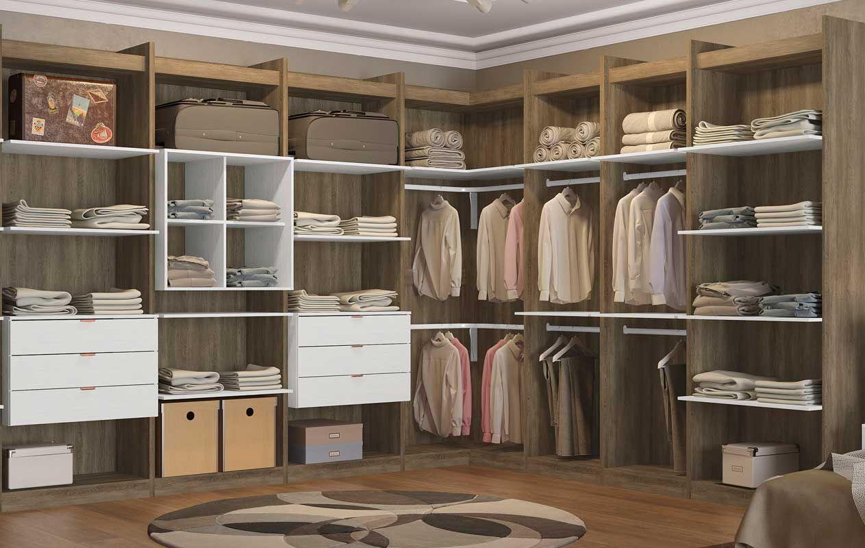 Nicho De Canto Kappesberg Closet F563 Compon Vel Costa Rica ~ Tamanho Ideal Quarto Casal Closet