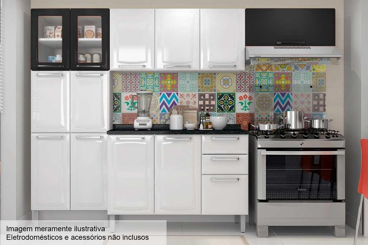 Cozinha Completa Itatiaia Tarsila De A O C 4 Pe As Cz78 Na Costa