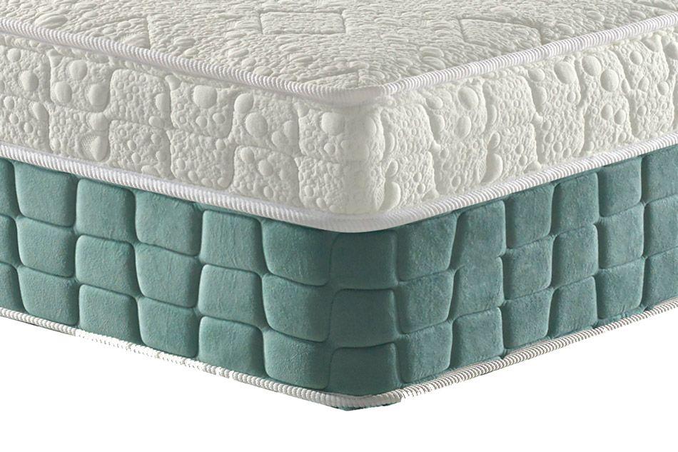 Conjunto Cama Box - Colchão Anjos Confort Magnético Terapêutico c/ Infravermelho Longo e Massagem + Cama Box Universal Couríno White