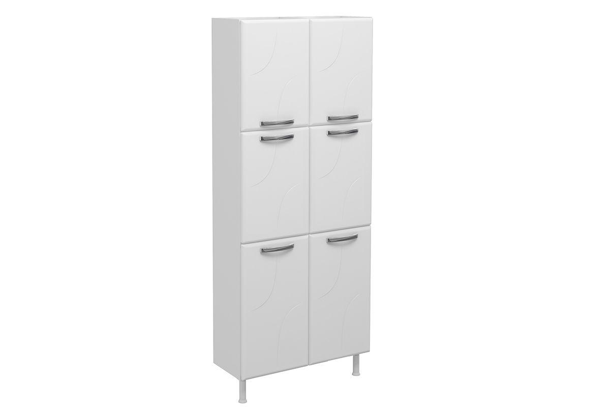 Paneleiro De Cozinha Telasul Duplo Safira De A O C 6 Portas 80cm