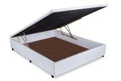 Cama Box Casal - 1,38x1,88x0,35 - Sem Colchão
