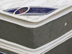 Colchão Castor de Molas Pocket Gold Star Super Luxo Cinza Viscoelástico Pillow Top