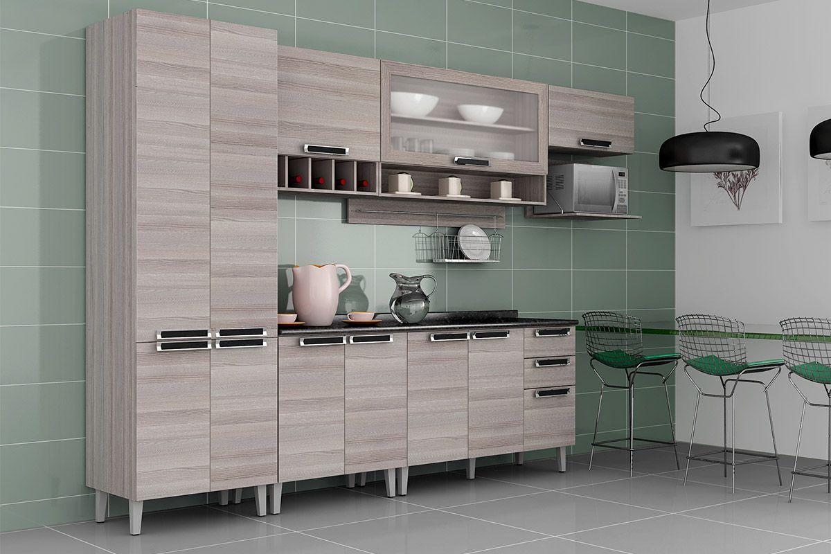 Armario De Cozinha Modulado Itatiaia Elegant Cozinha Modulada