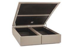Cama Box Queen Size - 1,58x1,98x0,35 - Sem Colchão