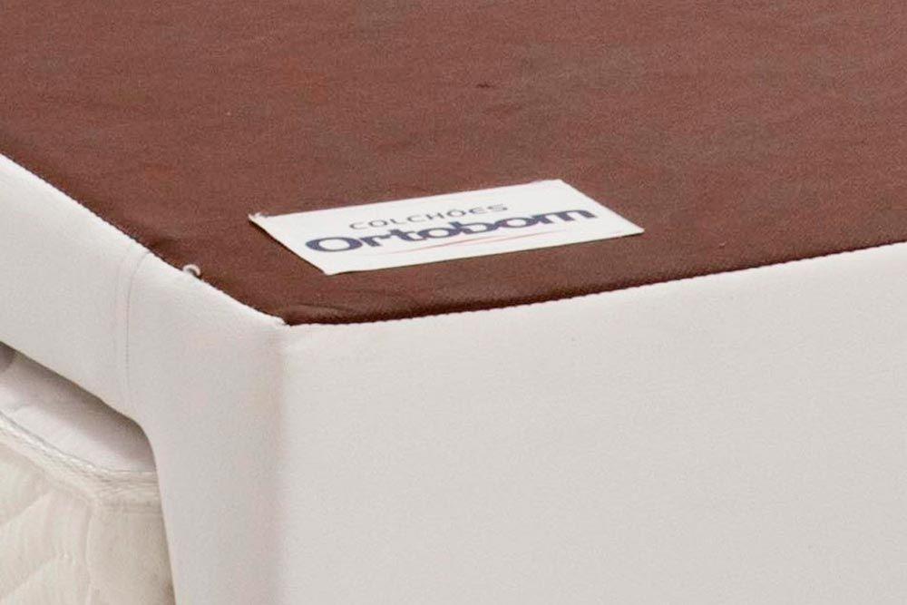 Bicama Revolution c/ Auxiliar Couríno Bianco Ortobom (Obrigatória a compra Cama Box + Auxiliar)