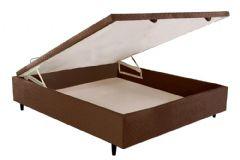 Cama Box Casal Inteiriço - 1,38x1,88x0,35 - Sem Colchão