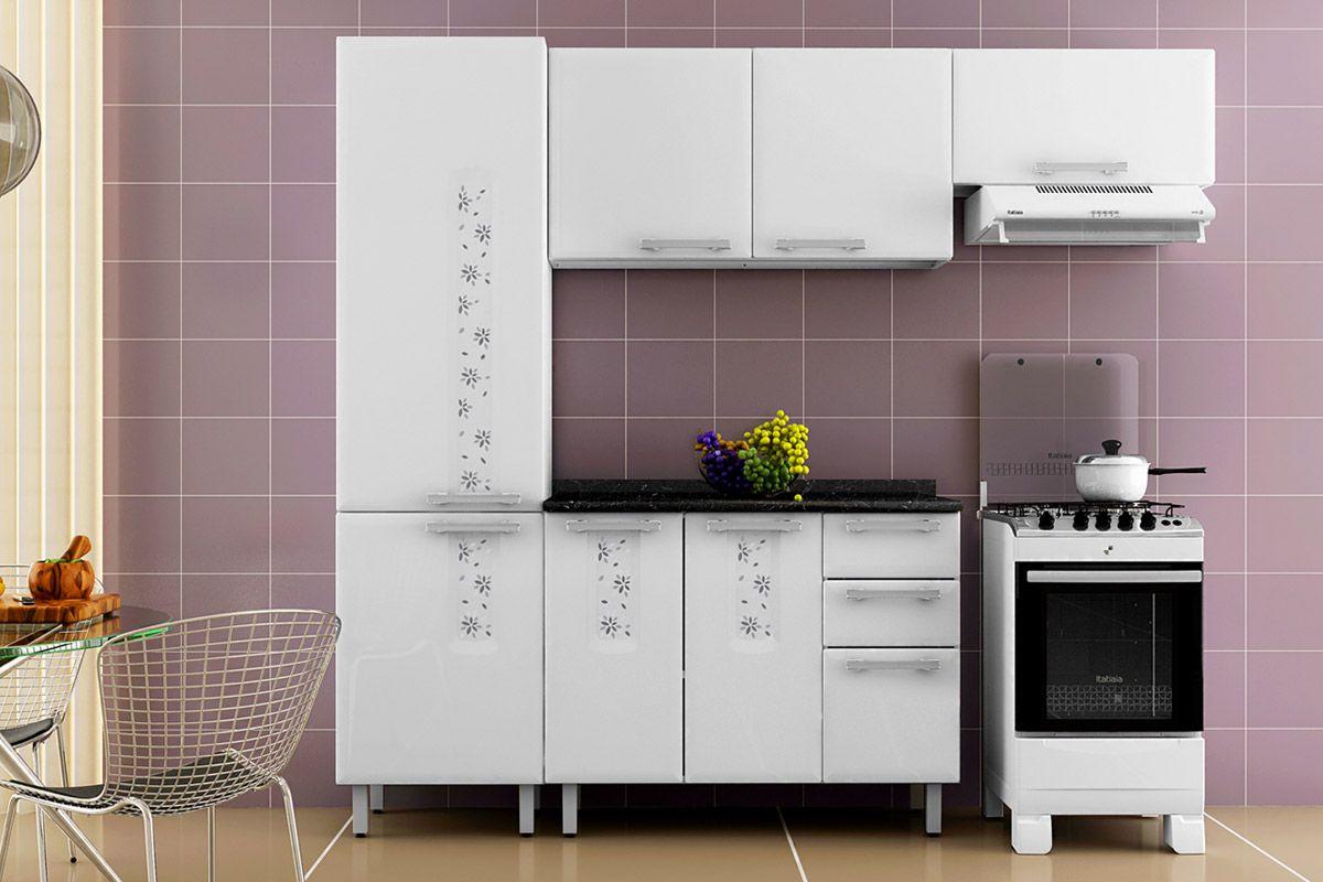 #A36628 Fotos Para Cozinha Itatiaia Diamante Completa Com Gabinete E Pia Inox  1200x800 px Armario De Cozinha Itatiaia Aço Casas Bahia #2067 imagens