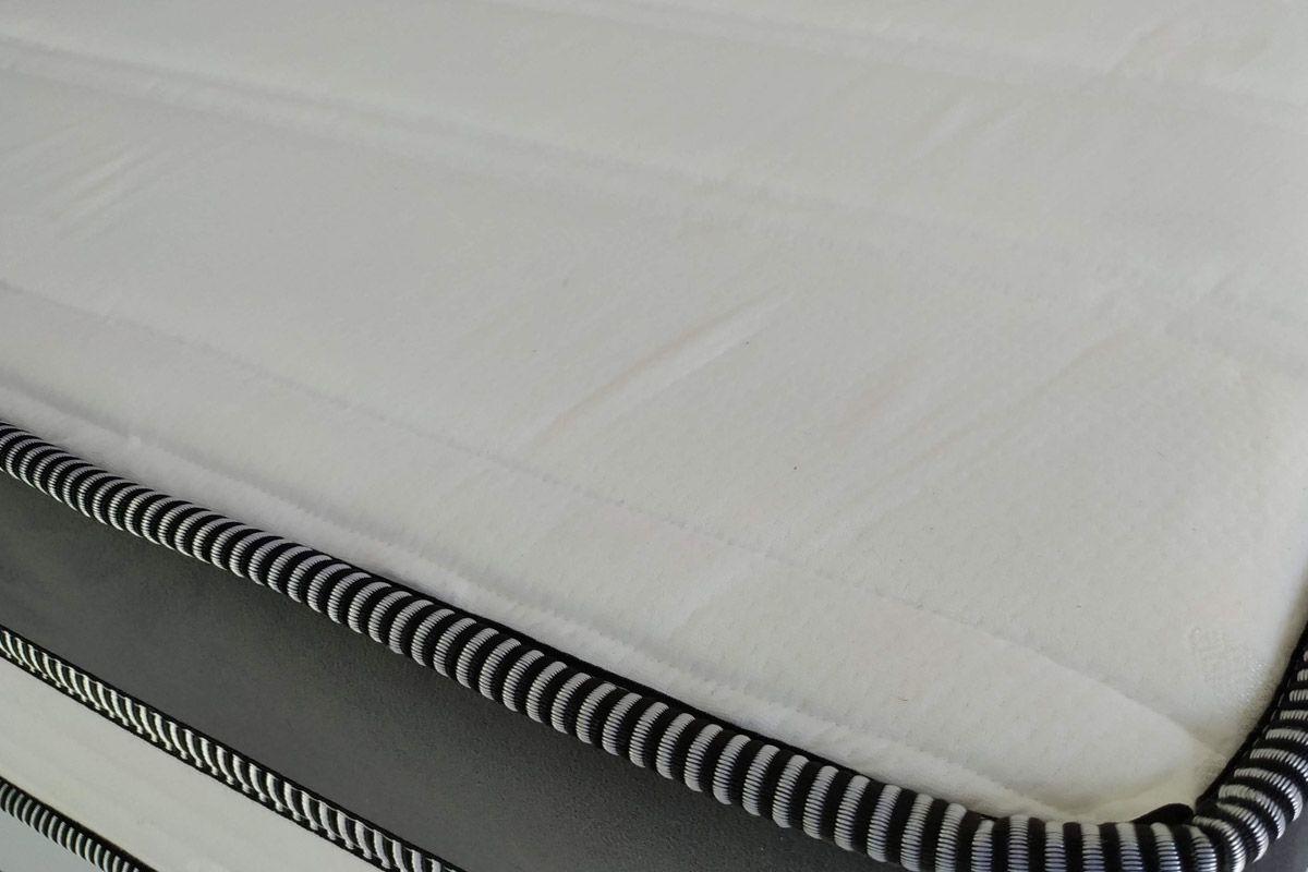 Conjunto Cama Box- Colchão de Molas Spring Steel Catar Europilow + Cama Universal Courino Branco