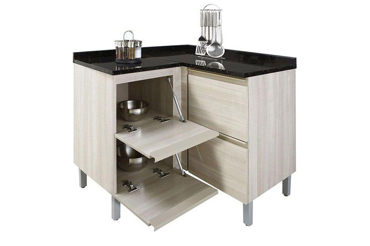 Gabinete (Balcão) de Cozinha Itatiaia Belíssima IGCRART Madeira  #595141 1200 800