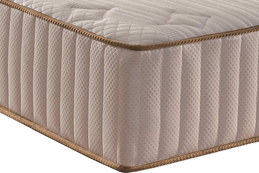 Conjunto Cama Box Universal + Colchão Paropas Molas Pocket Eco Fibra Clean