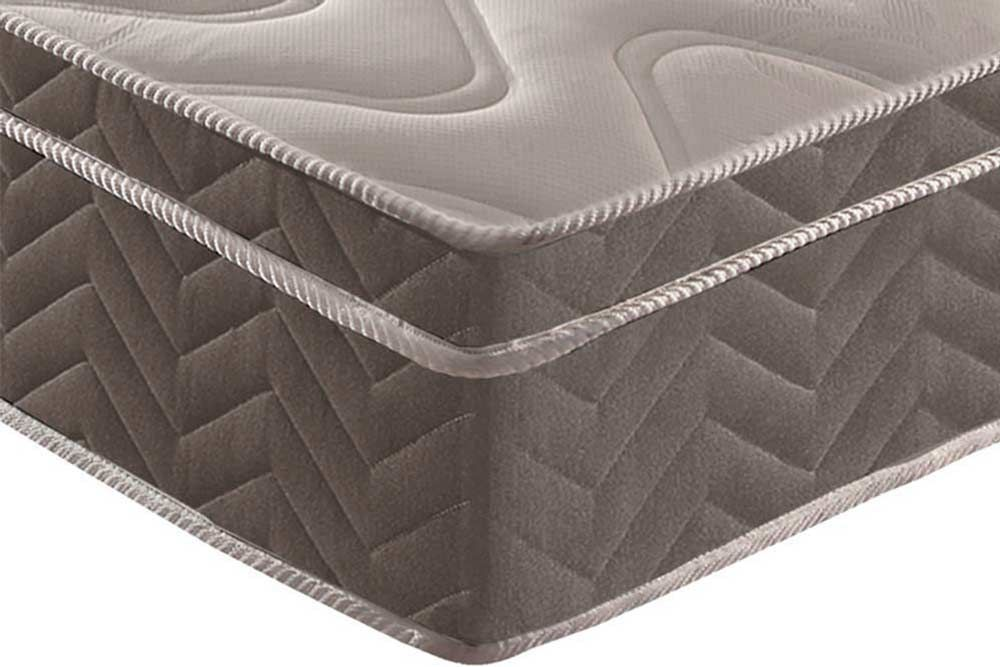 Conjunto 3x1 - Cama Box + Auxiliar + Colchão Paropas Espuma Ortopédica Pasquale Platinum