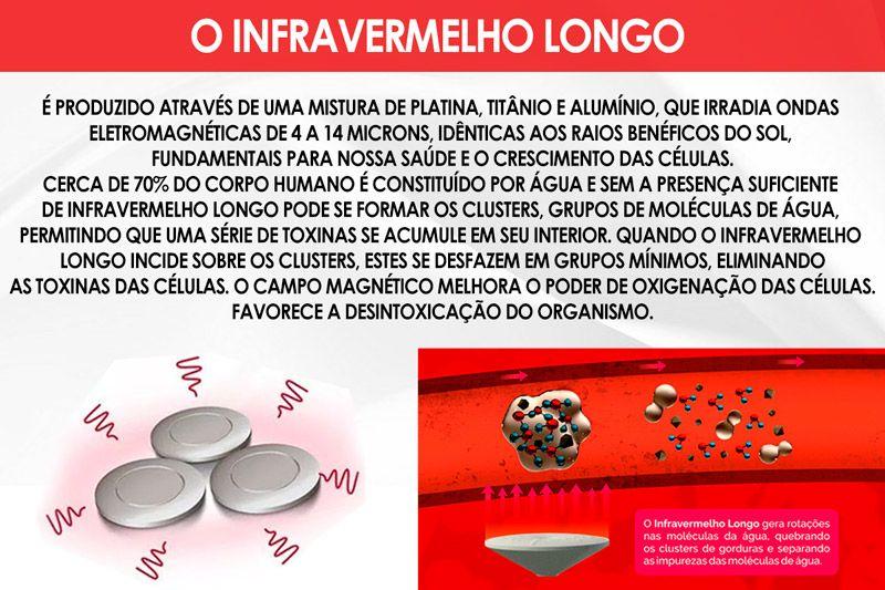 Conjunto Cama Box Baú - Colchão Magnético Infravermelho Salute + Cama Box Baú Courino Branco