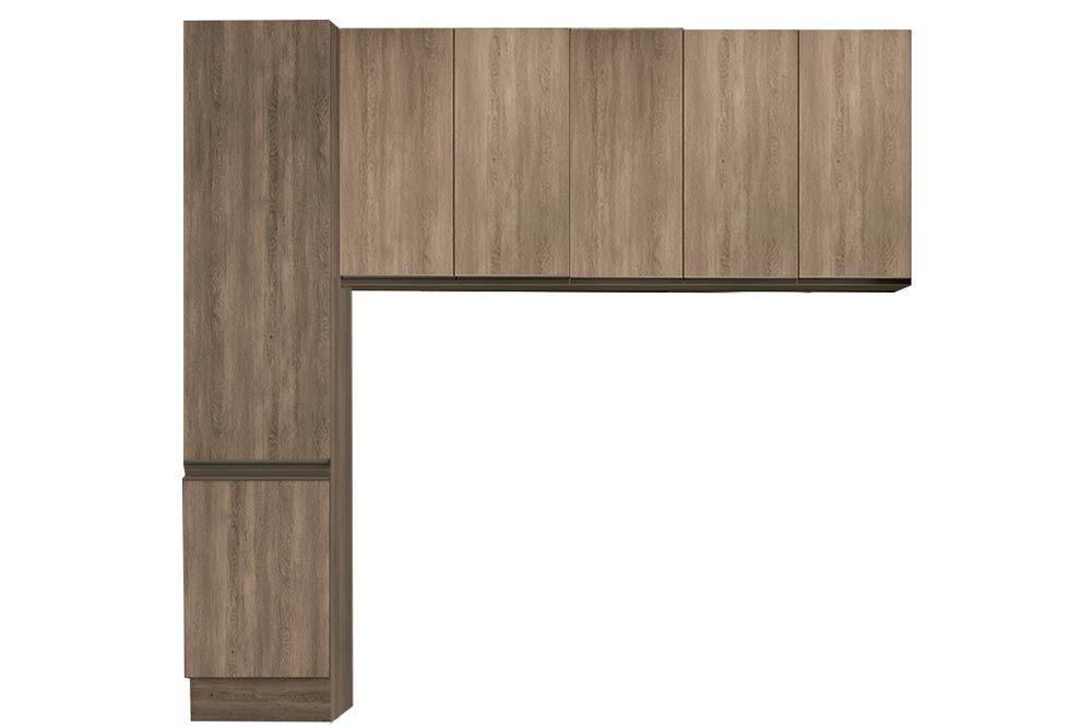Cozinha Completa Kappesberg Maxxi 3 Peças (Paneleiro + 2 Aéreos) CZ211