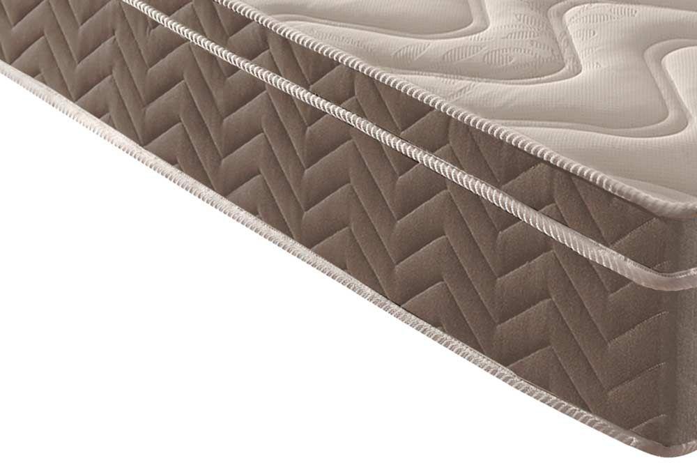 Conjunto 4 x1 - Cama Box + Baú + Auxiliar + Colchão Paropas Espuma D33 Anatômica Confort Ultra Firme