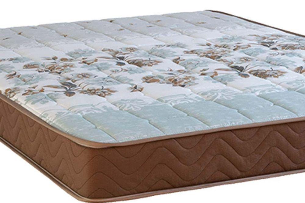 Conjunto Box Baú - Colchão Kappesberg de Espuma D40 Sonolev + Cama Box Baú Nobuck Bege Crema