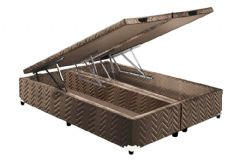 Cama Box King Size - 1,93x2,03x0,36 - Sem Colchão