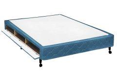 Cama Box Casal - 1,38x1,88x0,27 - Sem Colchão