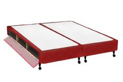 Cama Box Queen Size - 1,58x1,98x0,27 - Sem Colchão