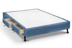 Cama Box 2 Gav Casal - 1,28x1,88x0,27 - Sem Colchão