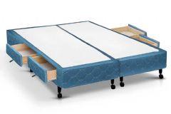 Cama Box 4 Gav.King Size  - 1,93x2,03x0,27 - Sem Colchão