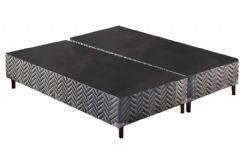 Cama Box King Size - 1,93x2,03x0,20 - Sem Colchão