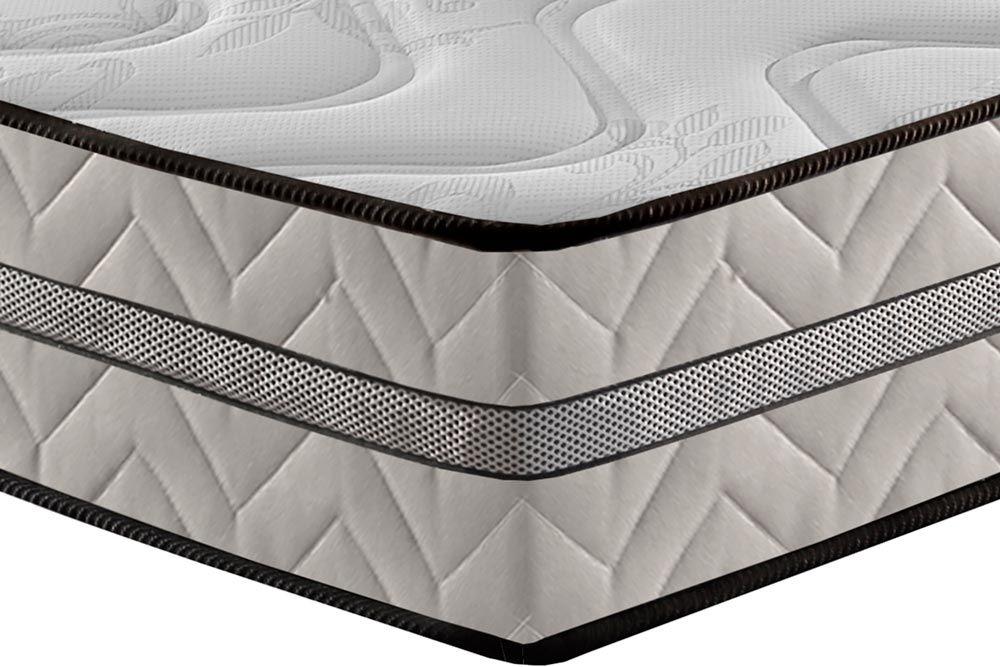 Conjunto Cama Box Universal + Colchão Paropas Espuma D33 Pasquale Plus Clean 025