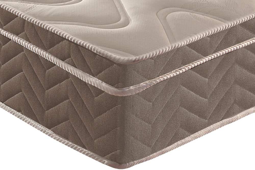 Conjunto Baú - Colchão Paropas Espuma D33 Anatômica Confort Ultra Firme 025 + Cama Box Baú Universal CRC Camurça Brown