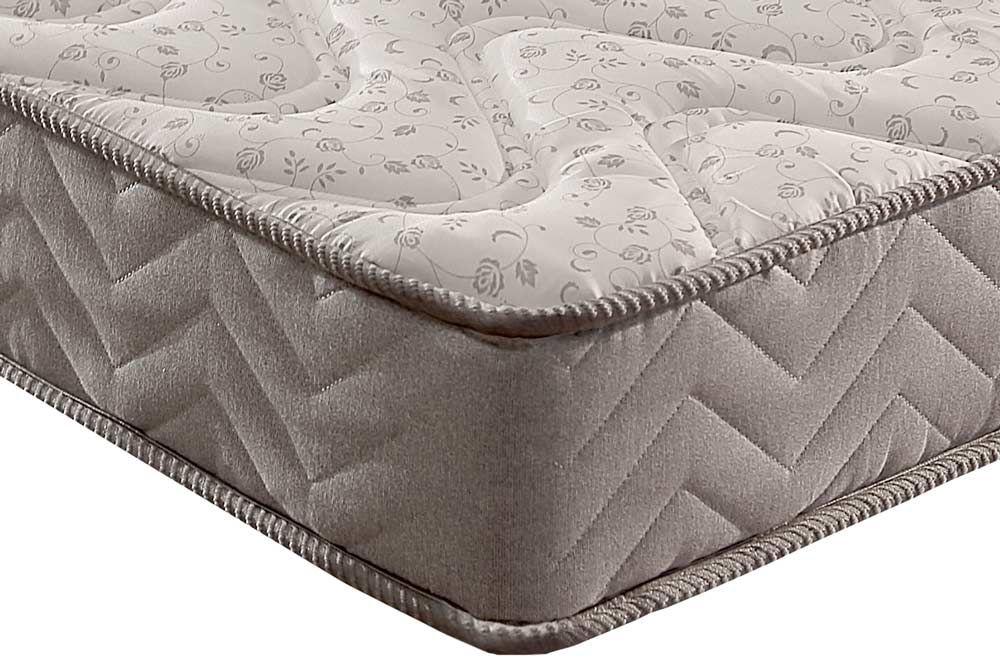 Conjunto Baú - Colchão Paropas Espuma D45 Pasquale Clean 025 + Cama Box Universal CRC Camurça Grey