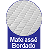 Com Matelassê Bordado