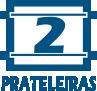 2 Prateleiras