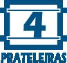 4 Prateleiras